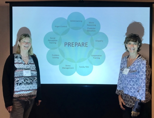 The PREPSEC International team on 2018 CYCABC