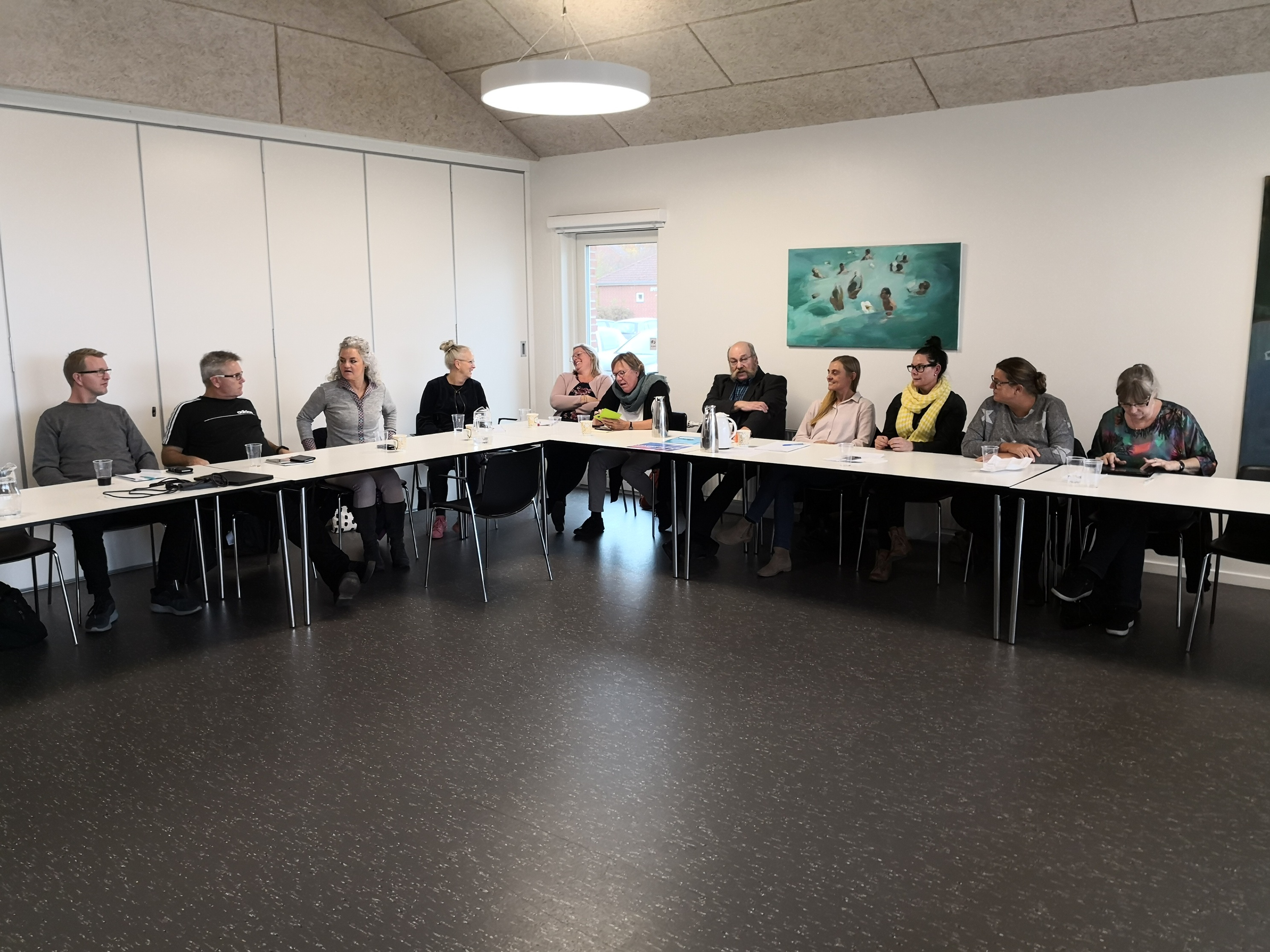 Danish A.R.T. devoted PREPSEC members meet for their annual meeting